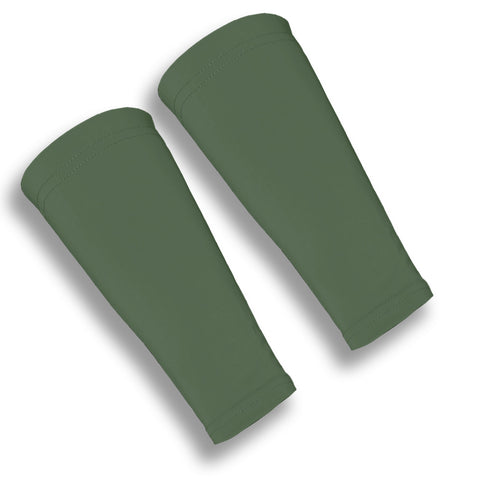 Olive Green Forearm Sleeves for Papery Skin