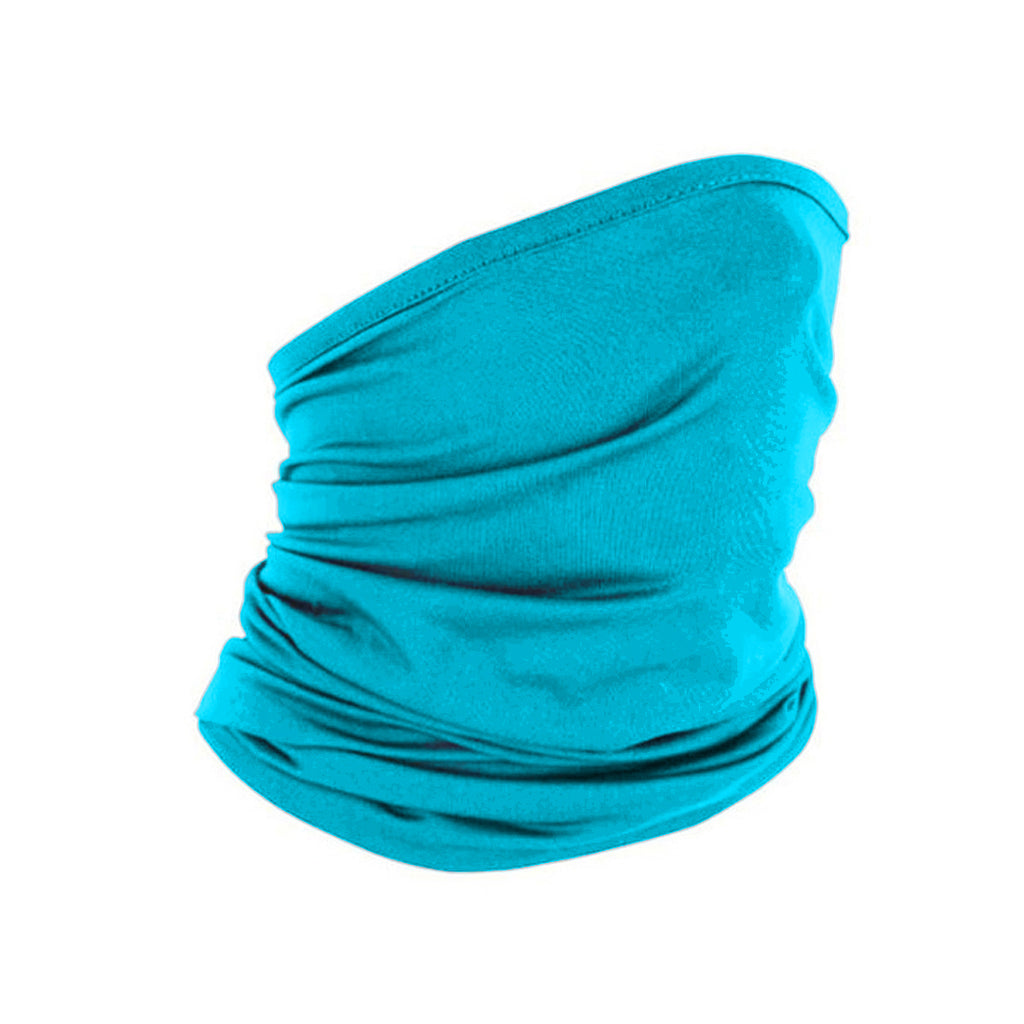Peacock Blue Infinite Protective Face Wrap