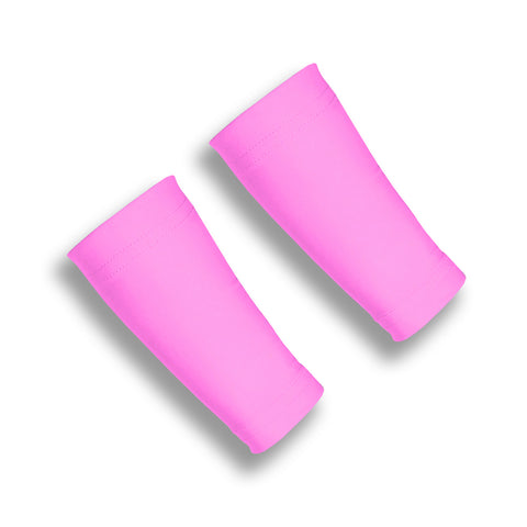 Pink Six Inch Wrist Sleeves for Thinning Skin
