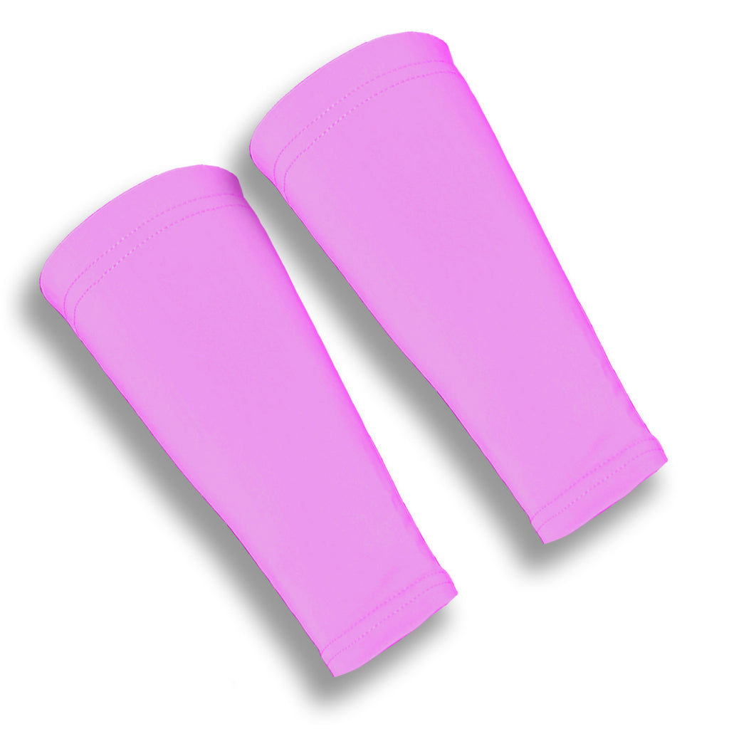 Pink Forearm Skin Protectors for the Elderly