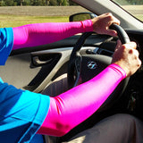 Pink Full Arm Sleeves for Fragile Skin or Thin Skin