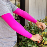 Pink Full Arm Sleeves for Fragile Skin and Skin Tears