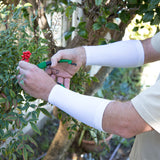 White Forearm Sleeves