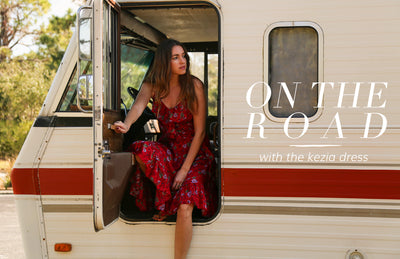 On the Road with the Kezia Dress