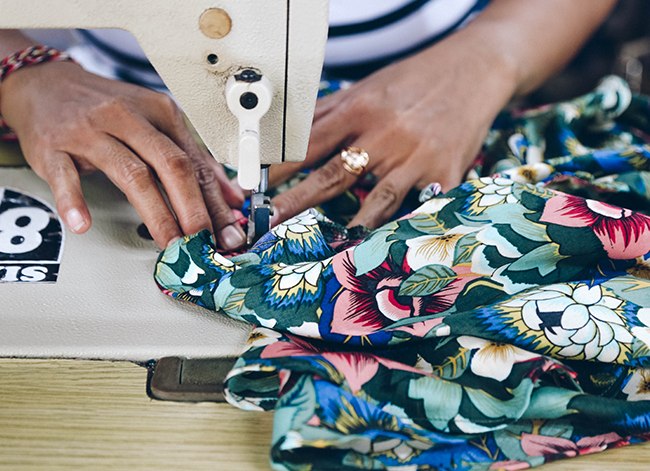 TAMGA Designs Ethical Sewing Factory
