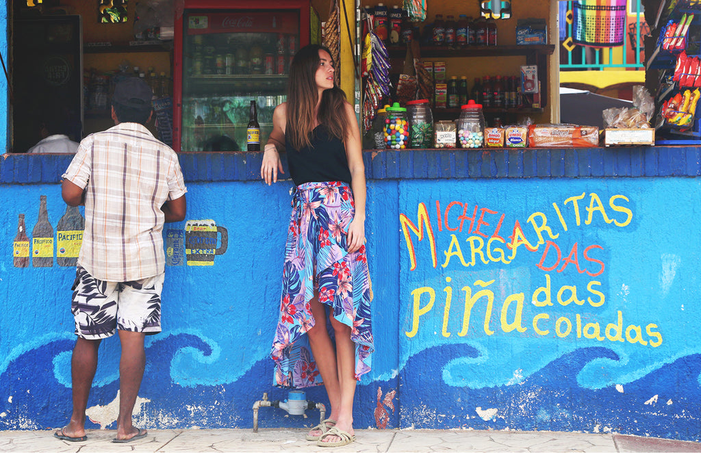 Inspo & Behind the Scenes: Tropika