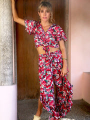 Frida Pants in the Gili Print