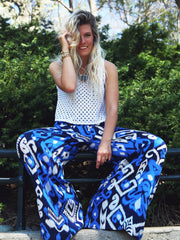 TAMGA Gita Pants Blue