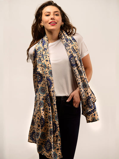 TAMGA Eco Friendly Scarf Blue