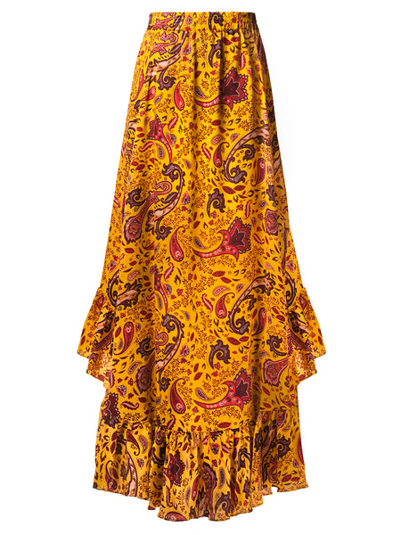 TAMGA Yellow Skirt