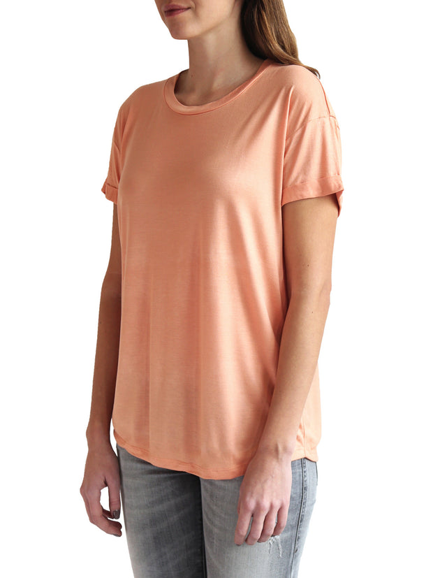 TAMGA Crew Neck Tee Coral