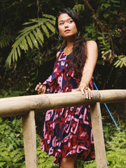 TAMGA Elsa Dress Sumba Print