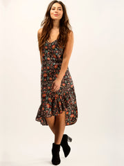 TAMGA Jasmine Slip-on Dress Toba Print