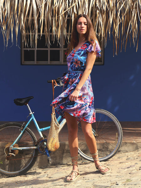 Marga Mini Dress Maluku Print