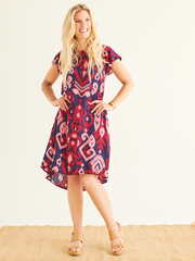Dali Shift Dress in Gili Print