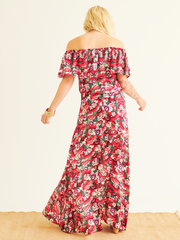 Karina Panelled Maxi Skirt