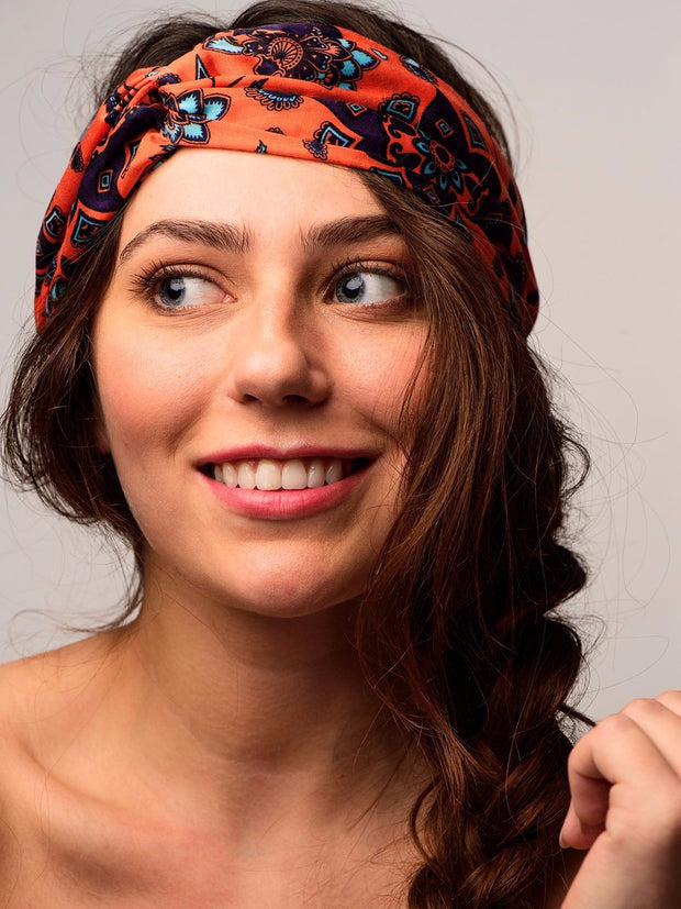 TAMGA Headband Orange