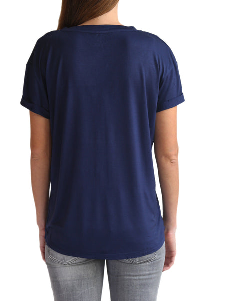 TAMGA Crew Neck Tee Blue