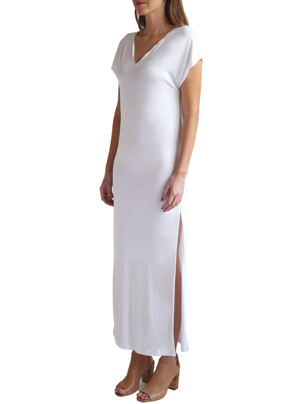 TAMGA Roaming Dress White