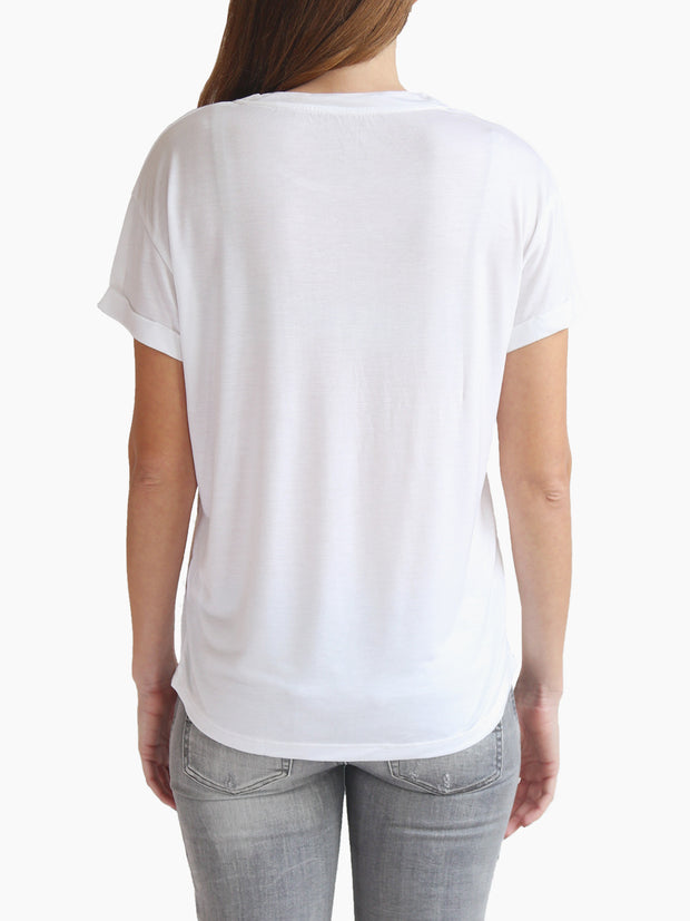 TAMGA Crew Neck Tee White