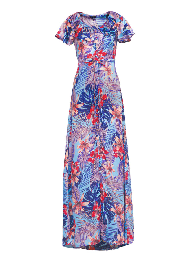 Moon Maxi Dress Maluku Print