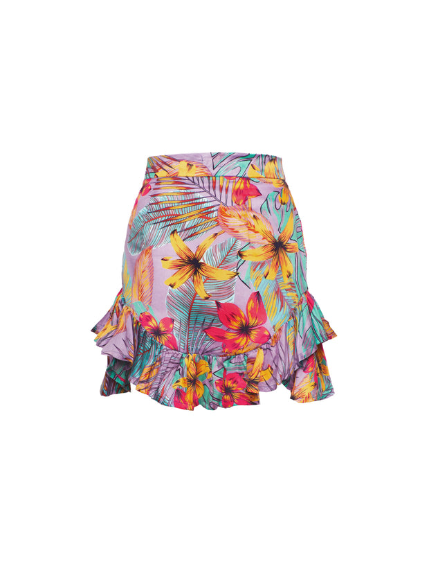 Nola Mini Skirt Taman Print