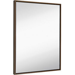 "Large Modern Frame Wall Mirror (30"" x 40"")"