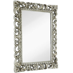 Antique Ornate Baroque Frame Mirror
