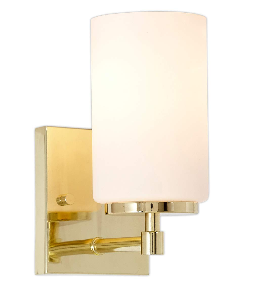 Glass Wall Sconce Bathroom Vanity Light