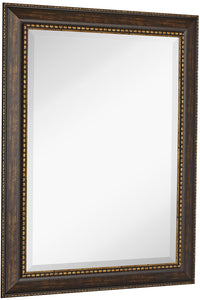 "Embellished Transitional Rectangle Mirror 30"" x 40"""