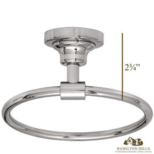 Load image into Gallery viewer, Classical Design Polished Chrome Hand Towel Ring