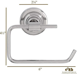 Classical Design Polished Chrome Toilet Paper Holder