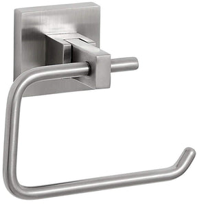 Modern Flat Brushed Nickel Toilet Paper Holder