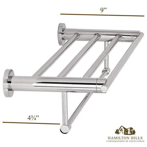 Modern Polished Towel Rack