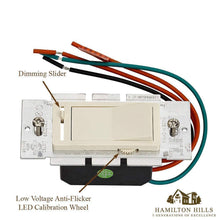 Load image into Gallery viewer, LED Dimmer Switch with Faceplate Cover