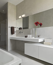 Load image into Gallery viewer, Modern Transitional Frosted Bathroom Light