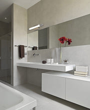 Load image into Gallery viewer, Slim Line Modern Frosted Vanity Light