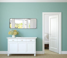 Load image into Gallery viewer, Mirror - Contemporary Brushed Metal Wall Mirror