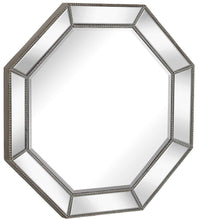 Load image into Gallery viewer, Large Framed Octagon Wall Mirror