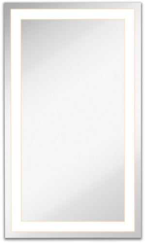 Lighted Backlit Wall Mirror Rectangle (21