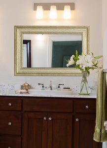 "Smooth Transitional Framed Mirror 24"" x 36"""