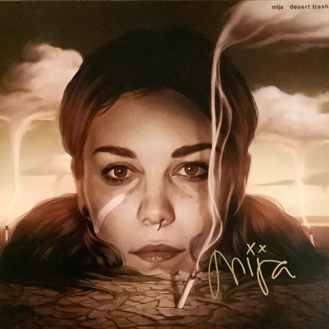 DESERT TRASH COLORED VINYL LP *SIGNED*