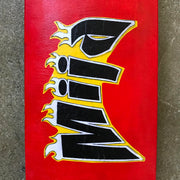 SKATEDECK #1 (MIJA-RED)