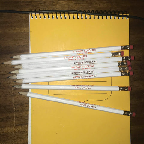 INTERNET-EDUCATED PENCILS