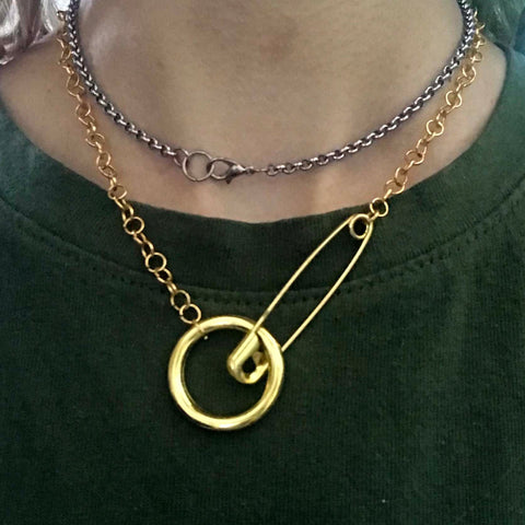 ALL GOLD EVERYTHING NECKLACE /1 of 1