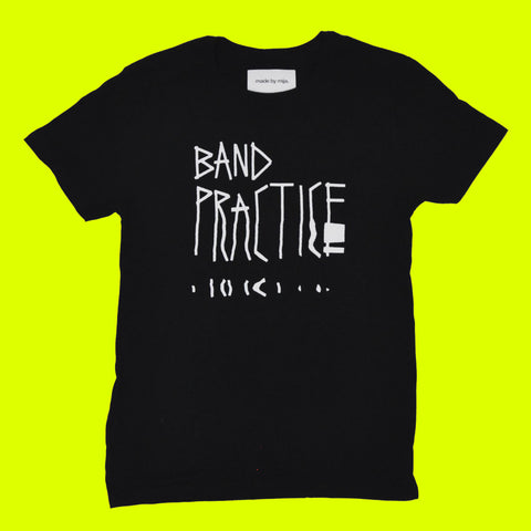 Band Practice Tour Tee (Black)