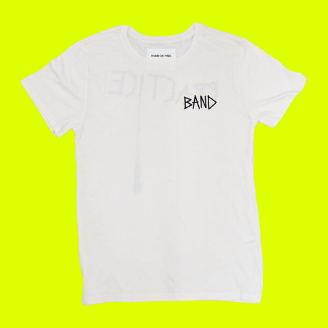 Band Practice Tour Tee (White)