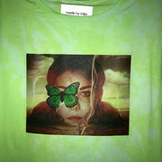 GREEN DYED REMIX TEE