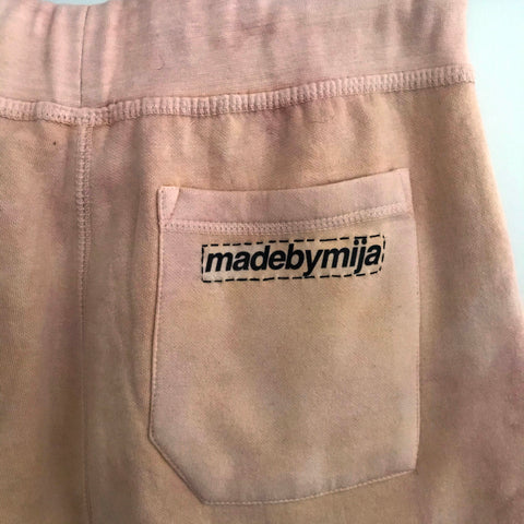 """MADE"" JOGGERS (PEACH)*"
