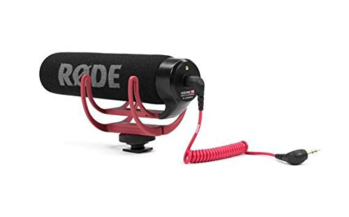 Rode VideoMic GO Lightweight On-Camera Microphone with Integrated Rycote Shockmount